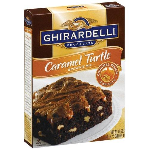 Ghirardelli Turtle Brownie Mix - 18.5 oz - 2 pk