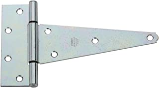 National Hardware N129-239 V286 Extra Heavy T Hinges in Zinc plated, 2 pack