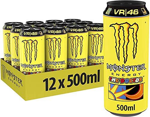 MONSTER ENERGY DRINK THE DOCTOR VR46 50 CL - 12 LATTINE