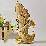 YSDHE Jarrón Mate Artesanías de cerámica Artesanías de cerámica Decoraciones para Regalos de Boda
