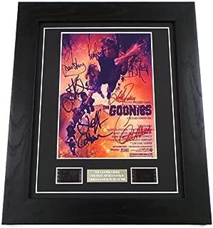 Goonies Signed + Goonies Film Cells Framed by artcandi