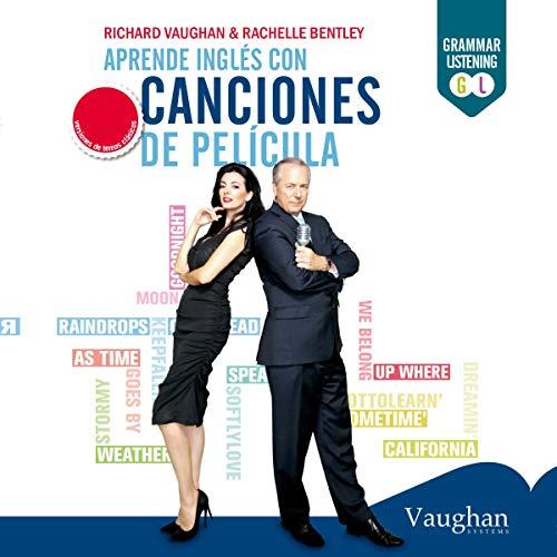 Diseño de la portada del título Aprende inglés con canciones de película