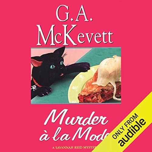 Murder a la Mode audiobook cover art