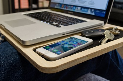 "iSkelter SlateGo: Mobile LapDesk - Travel Size Lap Desk (for 13"" Laptops)"