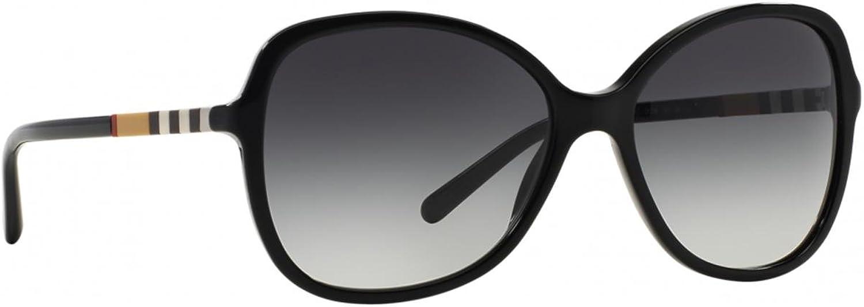 Burberry Women's 0BE4197 Black Gradient Grey