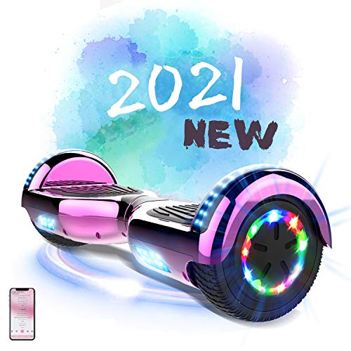 MARKBOARD Hoverboard Gyropode Bluetooth 6.5 Pouces, Scooter Electrique Moteur 700W...
