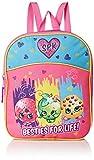 Shopkins Girls' Mini Backpack, PURPLE/PINK, 11' X 9' X 2.75'