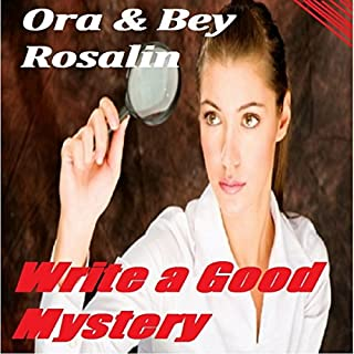 Write a Good Mystery audiobook cover art