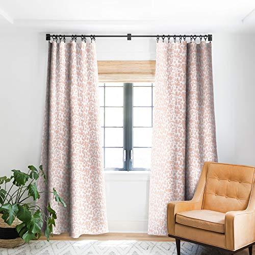 "Deny Designs Jacqueline Maldonado Dye Drops Flamingo Blackout Window Curtain, 50"" x 96"",69360-bowc02"