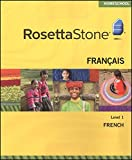 Rosetta Stone Version 3 French Level 1 w/ Audio Companion, Homeschool Edition