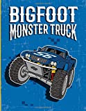 Big Foot Monster Truck: A Coloring and Activity Book For Kids With, Dot to Dot, Mazes Puzzles, and More for Ages 4-8 | 35 Awesome Supercars Vehicles Designs!