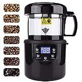ZLFCRYP Elettrica Macchina di Tostatura di Chicchi di caffè, Tostatori di caffè con Funzione di Raffreddamento