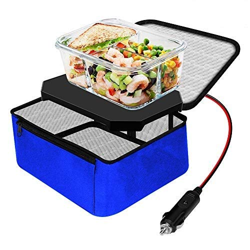 TrianglePatt Personal Portable Oven, Electric Slow Cooker For Food,Mini Oven For Meals Reheat,Food...