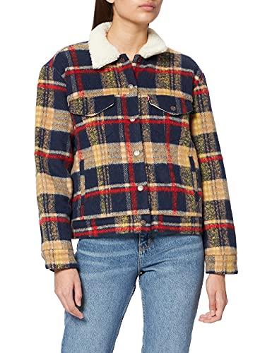 Levi's Trucker Chaqueta, Wool Plaid, XS para Mujer