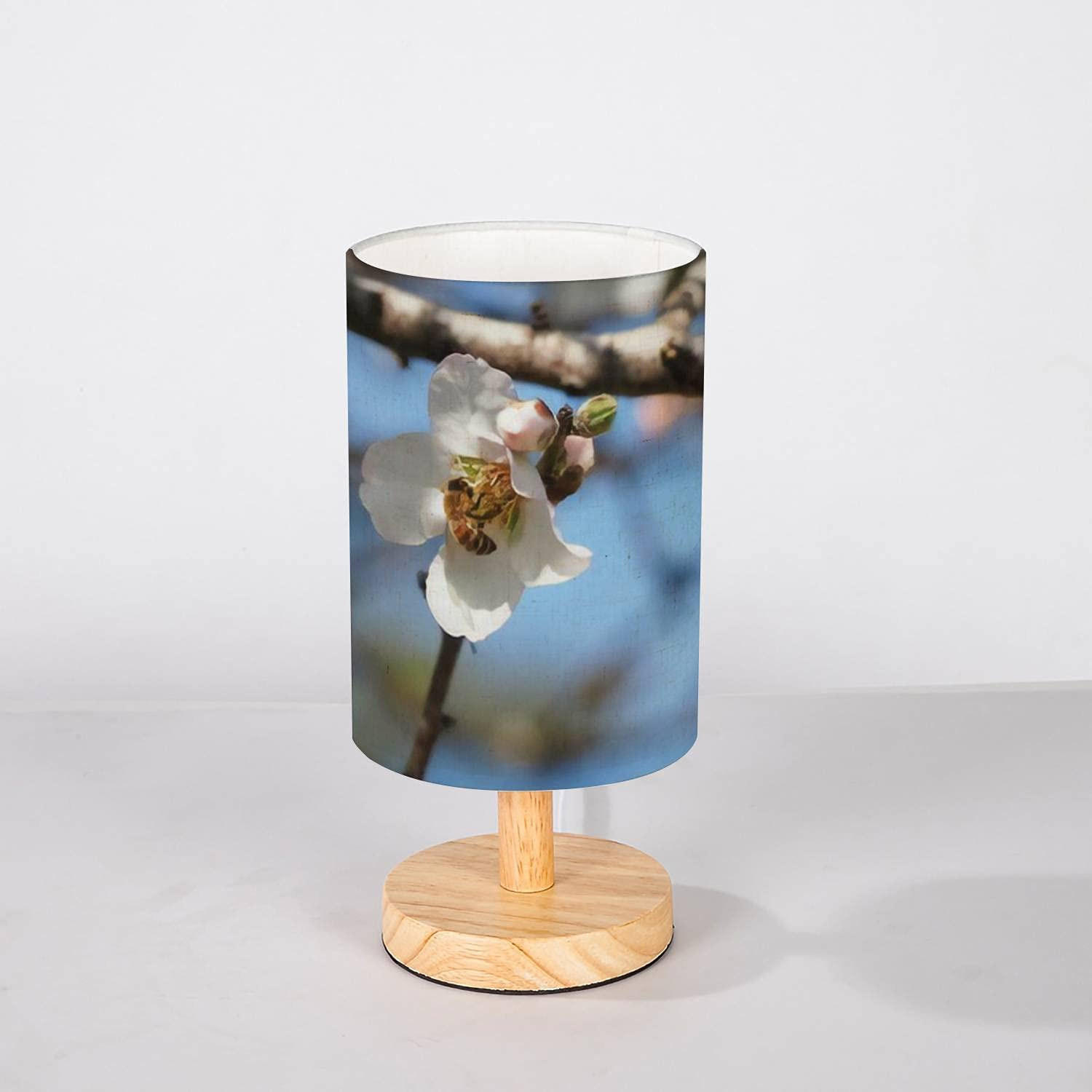 Minimalist Bedside Table Lamp Sale special price A bee Almond White Tree a 55% OFF Flowe on
