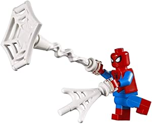 LEGO Superheroes Spiderman Deluxe Minifigure (with Web Blasts Accessory) 76115