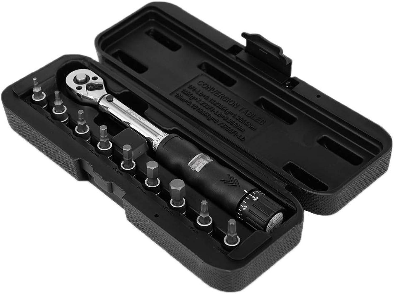 Rongzou 1 4 2-14Nm 2-14Nm 2-14Nm Drive Click Drehmomentschlüssel Hand Spanner  9 Sockel Bits  Box Set Fahrrad Werkzeug B07P1VYNT4 | Starke Hitze- und Abnutzungsbeständigkeit  2cfd7c