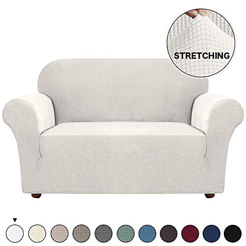 Loveseat Slipcover Form Fit Stretch Sofa Slipcovers Stay in Place Stylish Furniture...
