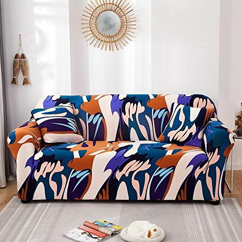 HXTSWGS Cubiertas Elegantes de los Muebles,Funda de sofá elástica con Todo Incluido para Muebles de Sala de Estar, Funda de sofá, Funda de sofá de 1/2/3/4 plazas, Color 11_190-230cm