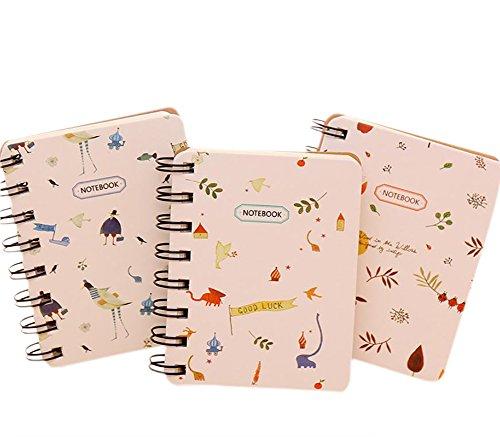 Gespout Cuaderno Notas Infantil Papelería Libreta Papel Cuadernos Agenda Libro Notas Pintura Papel de Etiqueta Memorándum Deseando Botellas Amigo Regalo de Graduación Lindo Color Aleatorio 1pcs