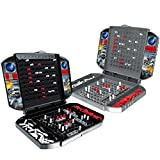 Tomppy Battleship Board Game, Retro Battlevessel Strategy Games for 2 Players, Naval Battle Ships Tabletop Game Puzzle Chess Interactive Toy for Kids Children Adults