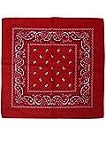 Bandana in 100% Baumwolle!, Farbe:rot