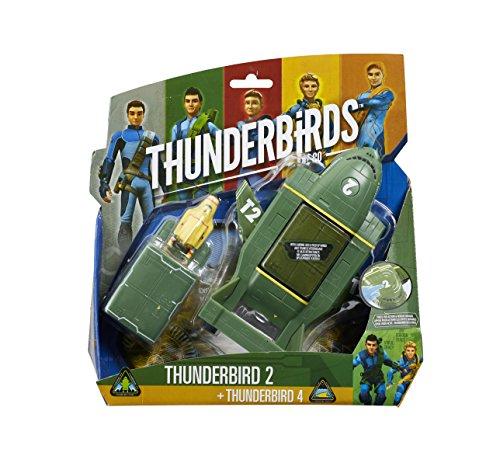 Thunderbirds - 90293.5200 - Véhicule Thunderbird 2 avec Mini Thunderbird 4
