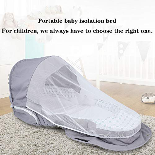 Purchase XBD Baby Extended Version Portable Bionic Bed Multi-Function Bed Bed Mummy Bag Folding Trav...