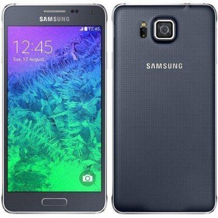 'Samsung Galaxy Alpha–Smartphone Vodafone sbloccato, schermo da 4.7, 32GB, Fotocamera da 12MP, WI-FI, GPS, colore: nero