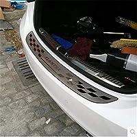 車の coverCar スタイリングステンレススチールリヤバンパープロテクターシルトランクリアガードのためのトレッドプレート現代エラントラ 2012-2018