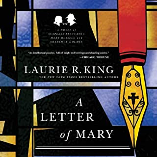 A Letter of Mary: A Novel of Suspense Featuring Mary Russell and Sherlock Holmes audiobook cover art