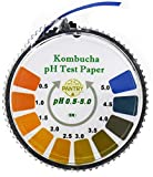 pH Test Strips for Accurate Kombucha Brewing, With Strips Dispenser 16 Foot Roll for 196 Uses