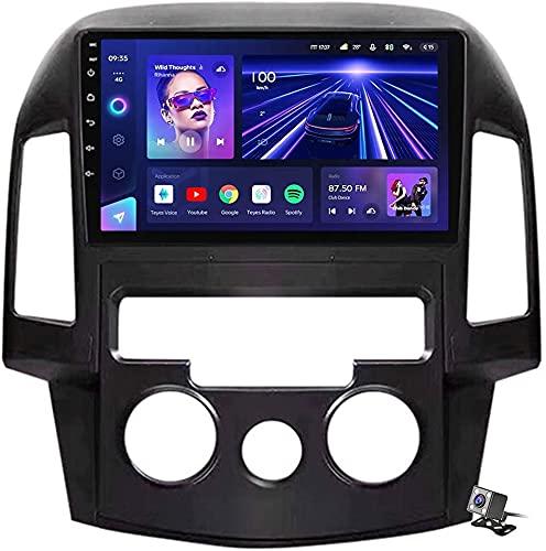 YIJIAREN Navigazione GPS Autoradio per Hyu-ndai i30 2007-2012, Schermo tattile IPS Android 10.0 Autoradio Stereo Supporta Il Controllo del Volante BT Mirror-Link 4G WiFi