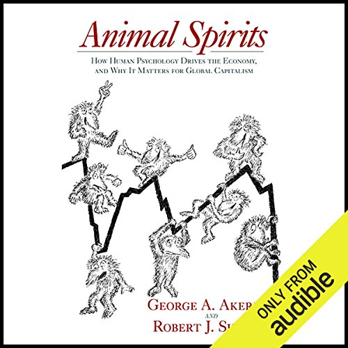 Animal Spirits audiobook cover art