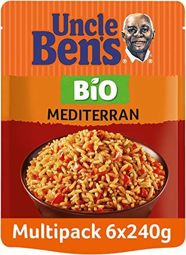 Uncle Ben's Express-Reis Bio Mediterran, 6 Packungen (6 x 240g)