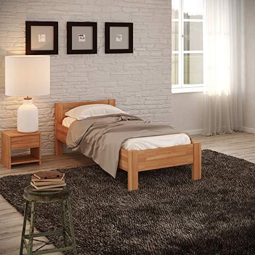 Krok Wood Seniorenbett SiSi aus Massivholz (Buche, 120 x 200 cm)