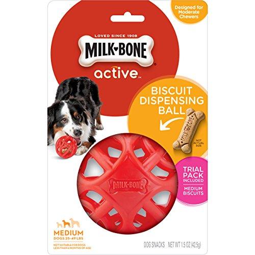 Milk-Bone Active Biscuit Dispensing Ball, Interactive...