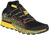 LA SPORTIVA Cyklon, Zapatillas de Trail Running Hombre, Negro Amarillo, 44.5 EU