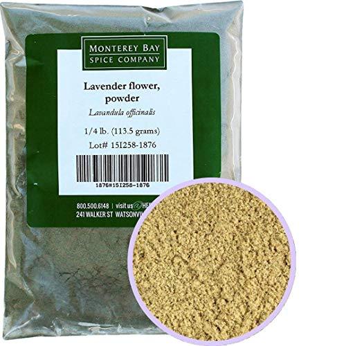 Monterey Bay Spice Co. Lavender Flower Powder 1/4 LB Pack
