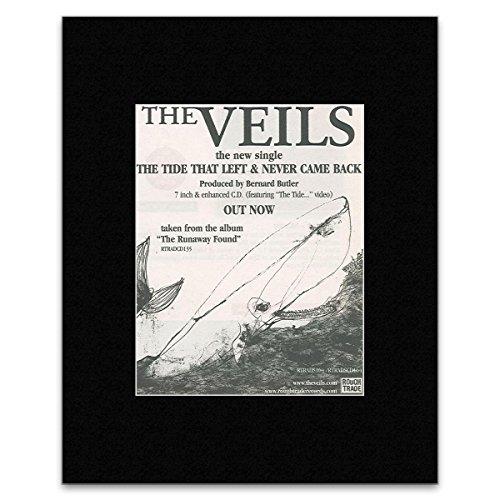 VEILS - Tide That Left & Never Came Back Mini Poster - 13.5x10cm (The Tide That Left And Never Came Back)