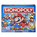 Monopoly Super Mario Celebration Edition Board Game for Super Mario Fans for Ages 8 and Up, with Video Game Sound Effects from Hasbro