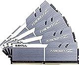 G.SKILL 64GB (4 x 16GB) TridentZ Series DDR4 PC4-27700 3466MHz for Intel Z370 Platform Desktop Memory Model F4-3466C16Q-64GTZSW