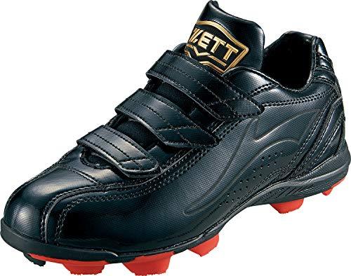 ゼット(ZETT)少年野球ポイントスパイクグランドメイトブラック/ブラック23.0cmBSR4297J