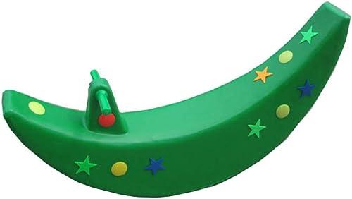 comprar marca Niño Mecedora Caballo Luna Balancín Balancín Juguete Juguete Juguete Niño Silla Mecedora Equilibrio Entrenamiento Regalo,verde  primera vez respuesta