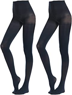 50 Denier Royal Blue Opaque Tights by Flirt extra small size only