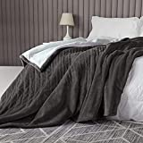 Heated Blanket Heated Throw Blanket 62'x84'Thicken Luxuriously Soft Fast Heating Blanket with 9 Hours Auto Off & 6 Heating Levels, Full Body Comfort, Overheat Protection, Machine Washable