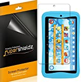 (3 Pack) Supershieldz for Kurio Next 7 inch Kids Tablet Screen Protector, High Definition Clear Shield (PET)