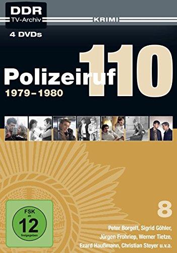 Polizeiruf 110 - Box 8: 1979-1980 (DDR TV-Archiv) [4 DVDs]