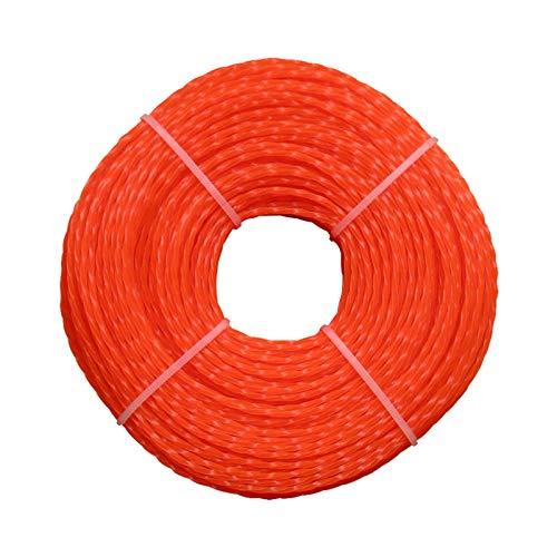XIAOFANG Fangxia Store Durable Cuerda de Corte Agricultura Hierba Universal Torsión Tipo Paisajismo Herramientas Accesorios Jardín Trimmer Line 3.0mm Desbrozadora