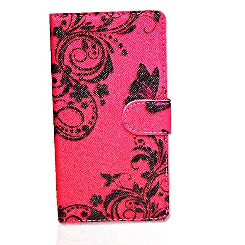 wicostar Book Style Handy Tasche - Design PBB - Cover Hülle Schutz Hülle Etui Schutzhülle für Huawei Ascend G525 - (Bulk)
